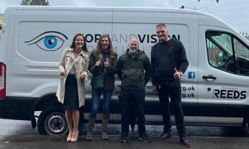 Reeds Solicitors buy new van for Hope and Vision