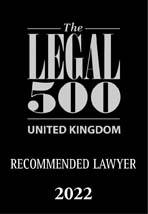 Recommended Lawyer 2022 Legal 500