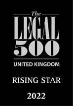 Rising Star Legal500 - 2022